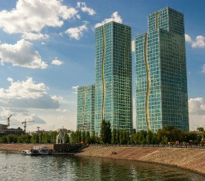 astana towers for august edge real estate