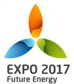 Expo 2017 logo without Astana