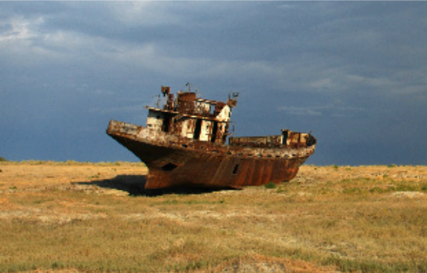 featured aral sea image