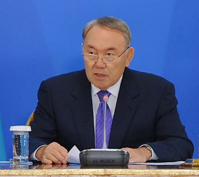 Nazarbayev meet with diplomatic corps 3