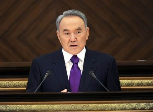 Nursultan Nazarbayev picture for edge from Embassy