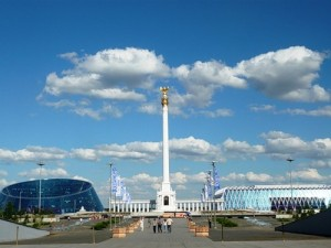 Memorial complex at Kazakh