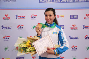 boxing women Kazakhstan